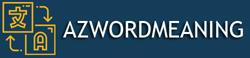 Logo AZWordMeaning
